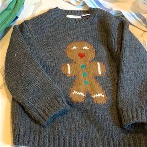 Zara gingerbread sweater